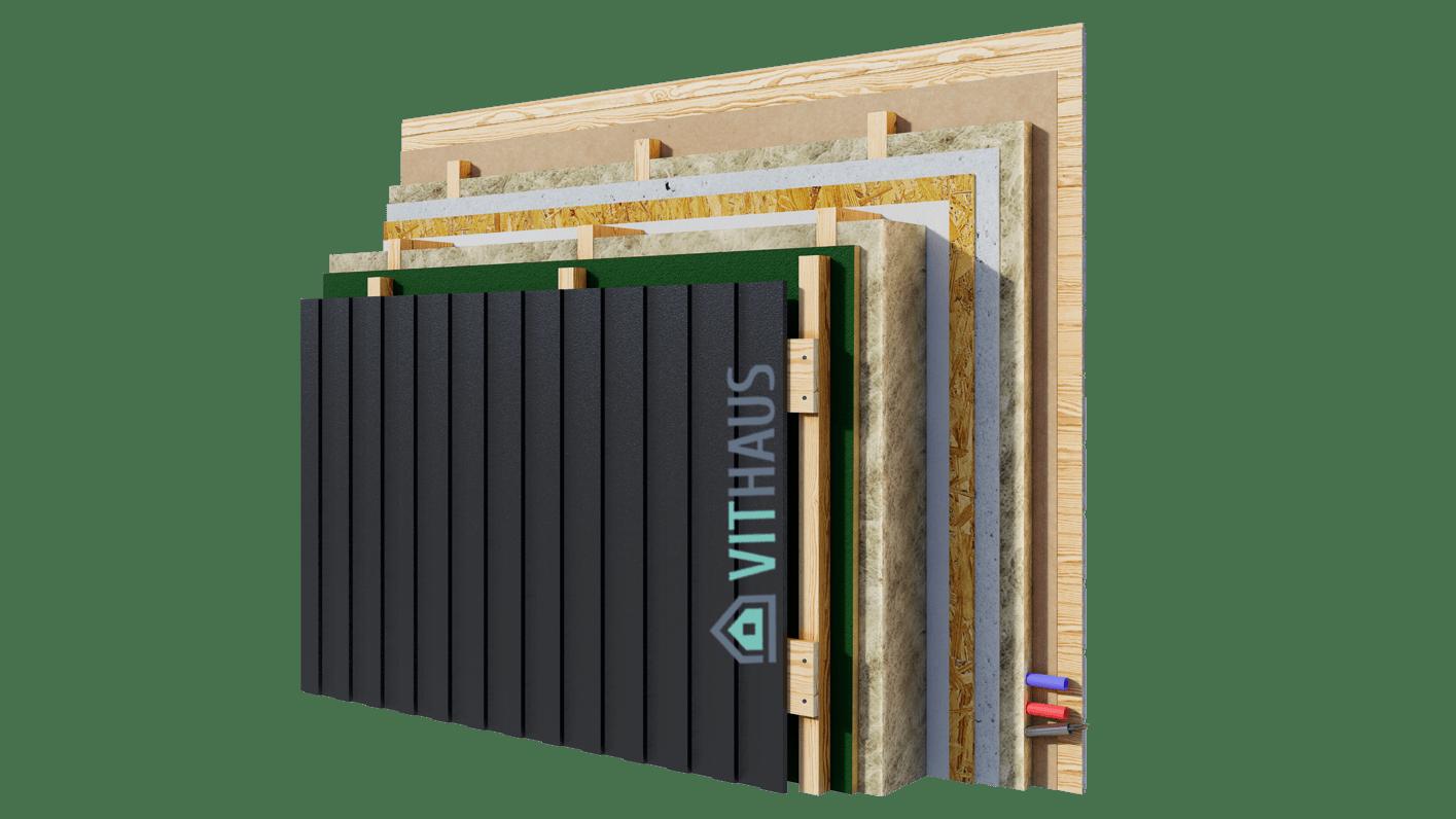 Внешняя_стена_А_имитация бруса+фасад металл